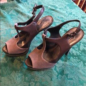 Jessica Simpson brand new platform shoes.